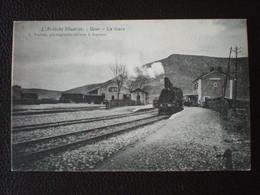 L'Ardèche IIIustrée -  UZER .- La Gare - Autres Communes