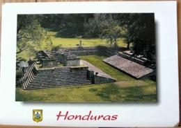 HONDURAS CAMPO DE PELOTAS RUINAS DE COPAN FOTO JUAN BENDECK GRD FORMAT - Honduras