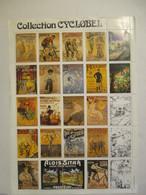 Collection CYCLOBEL - Feuillet De 25 Vignettes - Erinnophilie - Reklamemarken