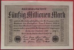 50000000 Mark 1923 (WPM 109) 1.9.1923 / 50 Millionen - [ 3] 1918-1933 : Repubblica  Di Weimar