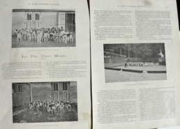 La Fin D'une Meute à Cause De Rage - La  Meute De Rallie-Vielsam - 2 Pages Originaux 1900 - Documents Historiques