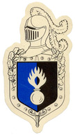 Gendarmerie - Plateau Direction Imprimé Sur Satin - Police