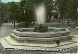 Sant'Andrea Bagni (Parma) Fontana E Bambino, La Fontaine, The Fountain - Parma