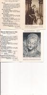 Petit Calendrier Religieux  Lot De 2   -  1960  Et  1967 - Oeuvre De Saint-François De Sales - Calendriers