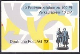 BRD MH 36 II MZ (mit Zählbalken), Postfrisch **, Sehenswürdigkeiten 1998 - BRD