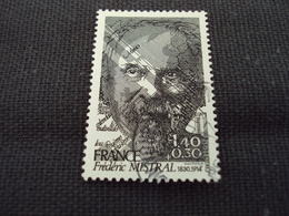 "80-89 Timbre Oblitéré N° 2098   "" Frederic Mistral  ""   0.40 - France"