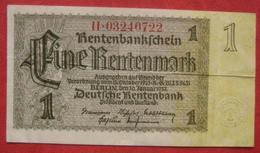 1 Rentenmark 1937 (WPM 173) 30.1.1937 - [ 3] 1918-1933 : República De Weimar