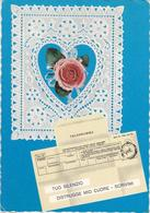 Varie 8303 Cartolina Telegramma D'amore - Couples