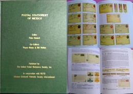 J) 2017 MEXICO, POSTAL STATIONERY OF MEXICO, BOOK, EDITION PETER BARNERT, BY MEPSI, COLOR FULL, ENGLISH VERSION, XF - Mexico