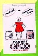 BUVARD & Blotter Paper: Yaourt OFCO  Pasteurisé - Produits Laitiers