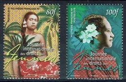 French Polynesia, International Women's Day 2019, MNH VF  A Pair - French Polynesia