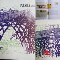 J) 2009 MEXICO, BOOK OF BRIDGES, COLOR FULL, VERSION IN SPANISH, 293 PAGES, XF - Mexico