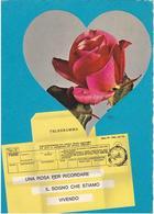Varie 8306 Cartolina Telegramma D'amore - Couples