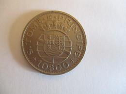 Sao Tome And Principe: 10 Escudo 1971 - Sao Tome And Principe