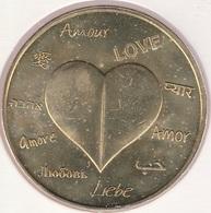 MONNAIE DE ¨PARIS 87 SAINT VICTURIEN  Une Médaille Pour L'Amour ! JAUNE- 2015 - Monnaie De Paris