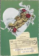 Cartolina Telegramma D'amore - Coppie