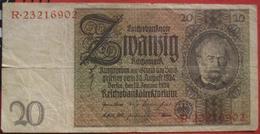 20 Reichsmark 1929 (WPM 180a) 22.1.1929 - [ 3] 1918-1933: Weimarrepubliek