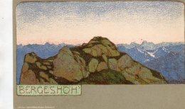 PAESAGGIO  , Illustratore   Ernst  Liebermann - Liebermann, Ernst