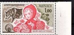 """Contes De Perrault """"Le Petit Chaperon Rouge"""" (Loup / Animaux) - Monaco - 1978 - Neufs"""