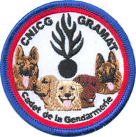 Maitre Chien Gendarmerie - Cadets De Gramat - Police