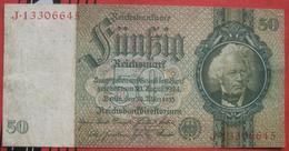 50 Reichsmark 1933 (WPM 182b) 30.3.1933 - [ 3] 1918-1933: Weimarrepubliek