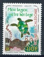 New Caledonia, My Lagoon, My Heritage, Sea Turtle, 2019, MNH VF - New Caledonia
