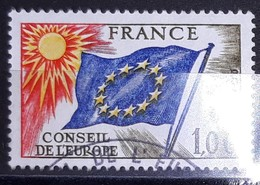 FRANCE - ANNEE 1976 - TIMBRE DE SERVICE OBLITERE N° YVERT 49 - COTE 3.00 EUROS - Service