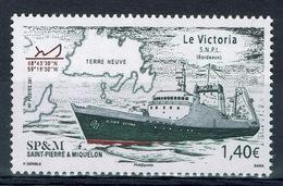 """Saint Pierre And Miquelon, Ship, """"le Victoria"""", 2019, MNH VF - St.Pierre & Miquelon"""
