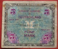 5 Mark 1944 (WPM 193) Alliierte Militärbehörde - 5 Mark