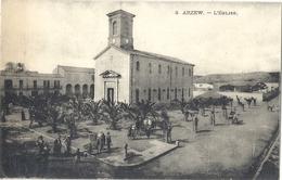 CPA Algérie Arzew L'Eglise - Alger