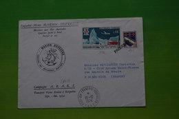 4-501 Marion Dufresne TAAF Timbre France Oblitéré Paquebot Fusée Russe Araks Kerguelen 1974 EPF - Forschungsprogramme