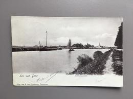 SAS VAN GENT - Kanaal Gent - Terneuzen - 1906 - Sas Van Gent
