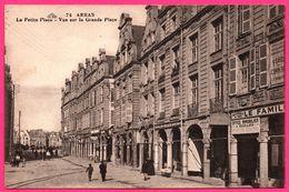 Arras - La Petite Place - Vue Sur La Grande Place - Office Immobilier - Familistère - Animée - CAP - Arras