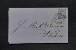 ALLEMAGNE - Lettre De Flensburg En 1879 , Affranchissement Plaisant - L 25963 - Deutschland