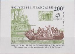 Polinesia Francese Franch Revolution Philexfrance 98 Sheet Mnh MNH - Rivoluzione Francese