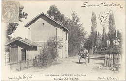 CPA Algérie Nazareg La Gare - Oran