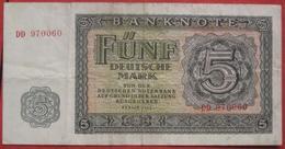 5 Deutsche Mark 1955 (DDR WPM 17) - 5 Deutsche Mark