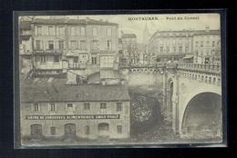 CPA 82 - Montauban - Pont Du Consul - Usine De Conserves Alimentaires Emile Poult Papier Cigarette Biscuits Poult - 1914 - Montauban