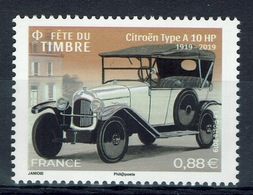 France, Car, Citroën Type A, Stamp Day, 2019, MNH VF - Francia