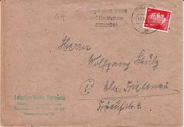 DR 3 Reich Späte Post Mi 786 EF Bf MWSt Berlin März 1945 - Germany