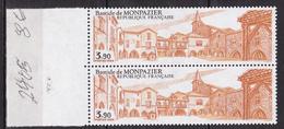 N° 2405 Bastide De Monpazier ( Dordogne ): Une Paire De 2 Timbres Neuf Impeccable - Unused Stamps
