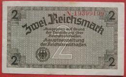 2 Reichsmark ND  (WPM R137) Reichskreditkassenschein - [10] Emisiones Militares