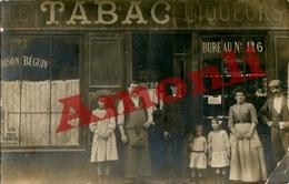 92. HAUTS DE SEINE - NANTERRE. Café Tabacs Béguin (A La Civette, Rue De St-Germain). (Qualité Photo) - Nanterre