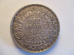 200 Francs 1953 (argent) - Morocco