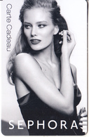FRANCE - Girl, Sephora Gift Card, Unused - Gift Cards