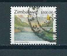 2000 Zimbabwe Mukorsi $100.00 Used/gebruikt/oblitere - Zimbabwe (1980-...)