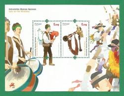 Portugal   2014  Mi.Nr. 3934 / 35  (Block 362) - EUROPA CEPT - Musikinstrumente - Postfrisch / MNH / (**) - Europa-CEPT