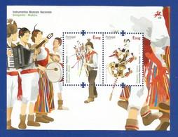 Portugal / Madeira  2014  Mi.Nr. 337 / 338  (Block 58) - EUROPA CEPT - Musikinstrumente - Postfrisch / MNH / (**) - 2014