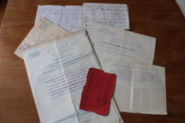 Lot D'un Officier  Du 142 Eme RI  Et Detaché Au 500 Regiment D'artillerie Speciale - 1914-18