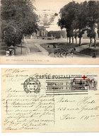 VERSAILLES - L' Avenue De Sceaux - Flamme Rare Sur Timbre 5 F Croix Rouge  (112176) - Versailles